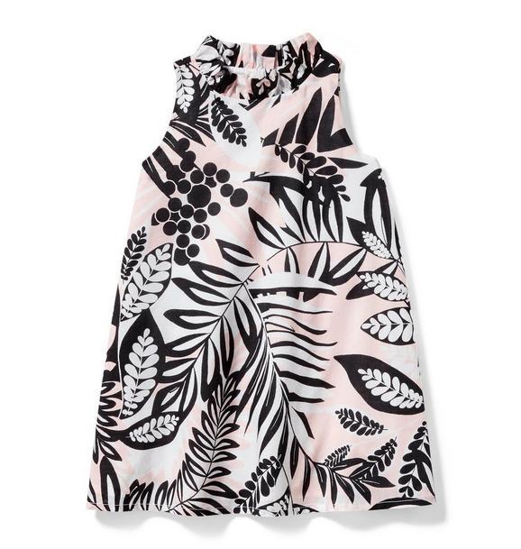 Palm Shift Dress
