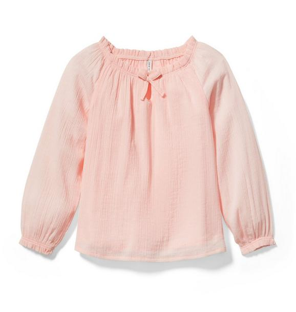 Crinkle Bow Top