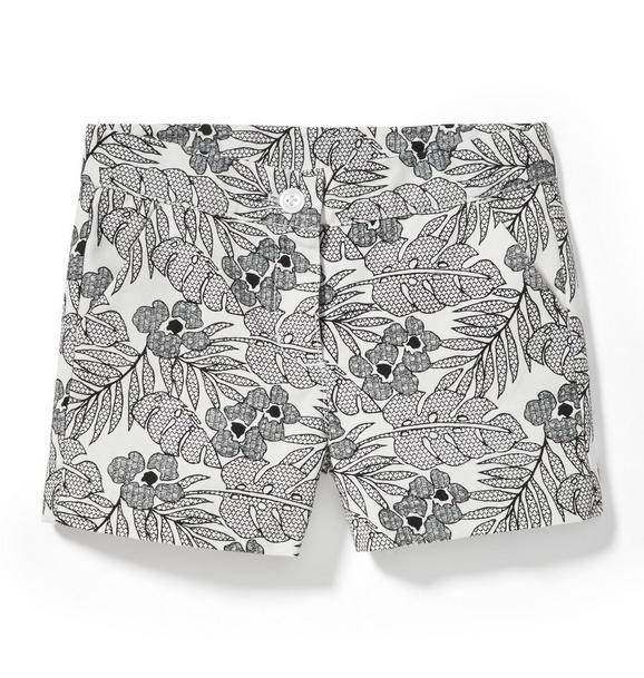 Tropical Leaf Short
