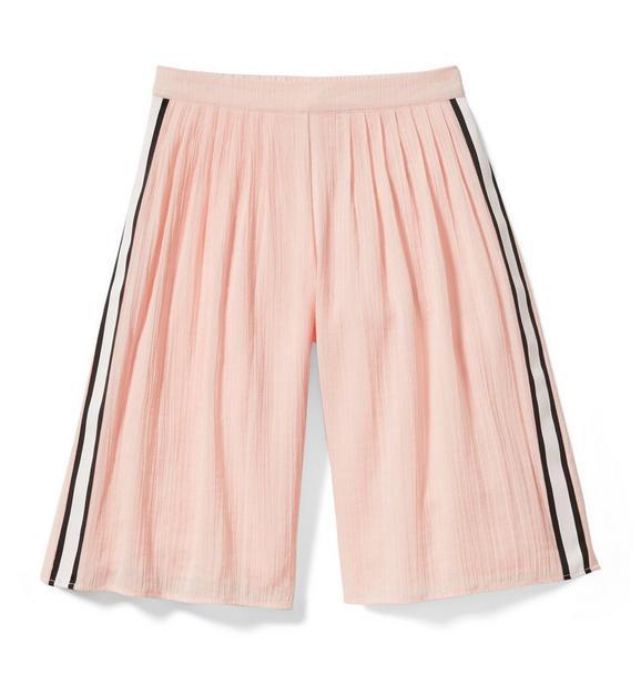 Side Stripe Wide-Leg Pant