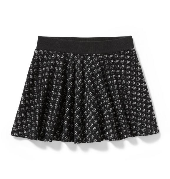Shimmer Jacquard Skirt