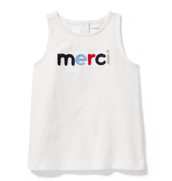 Merci Sleeveless Tee