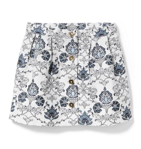 Floral Tapestry Skirt