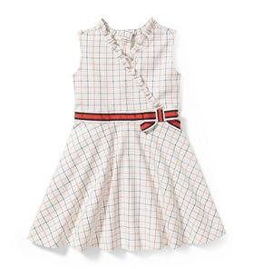 cb0f455f10508 Windowpane Ponte Dress
