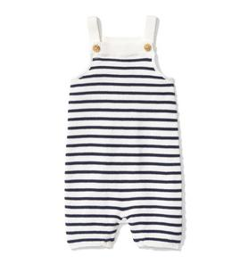 Boys 18-24 Months Janie And Jack Gray Overalls Boys' Clothing (newborn-5t)