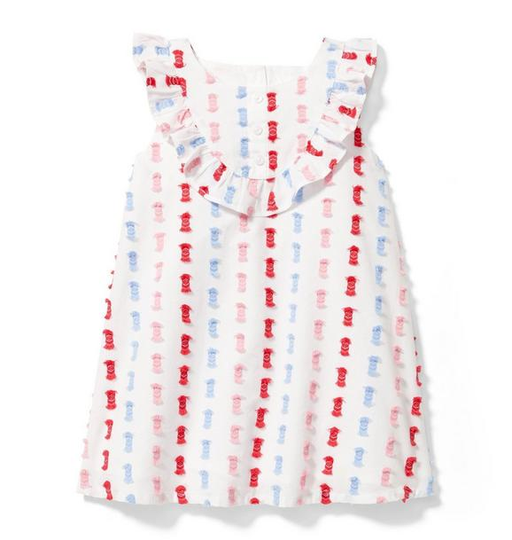 Geo Fringe Dress