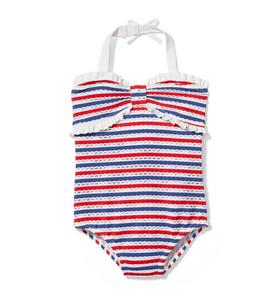 b2a41feb61 Quick Look · Striped Eyelet Swimsuit. $39.00 $39.00. Quick Look · Floral  Stripe Rash Guard Set