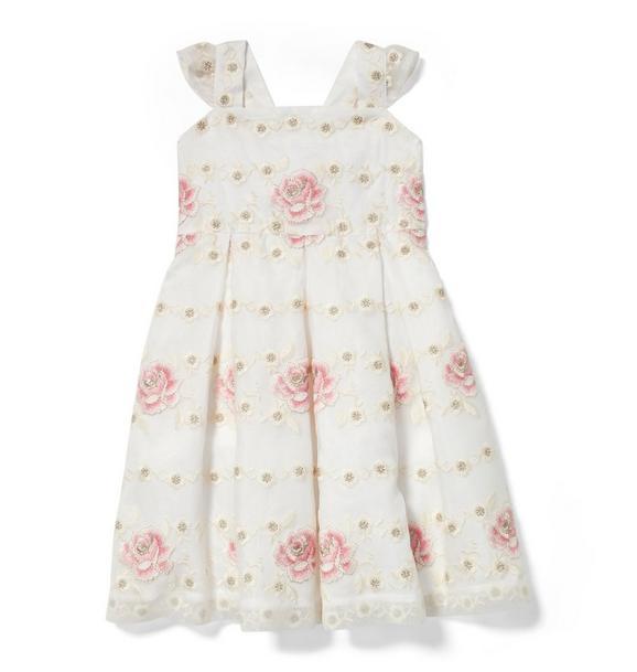 Rose Organza Dress