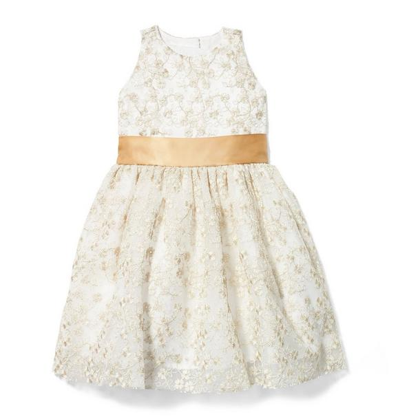 Shimmer Lace Dress