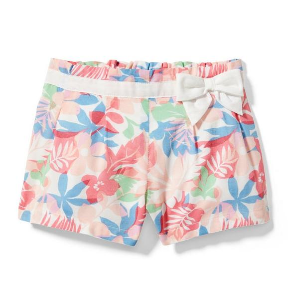 Tropical Leaf Short