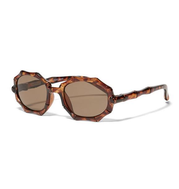 Tortoise Bamboo Sunglasses
