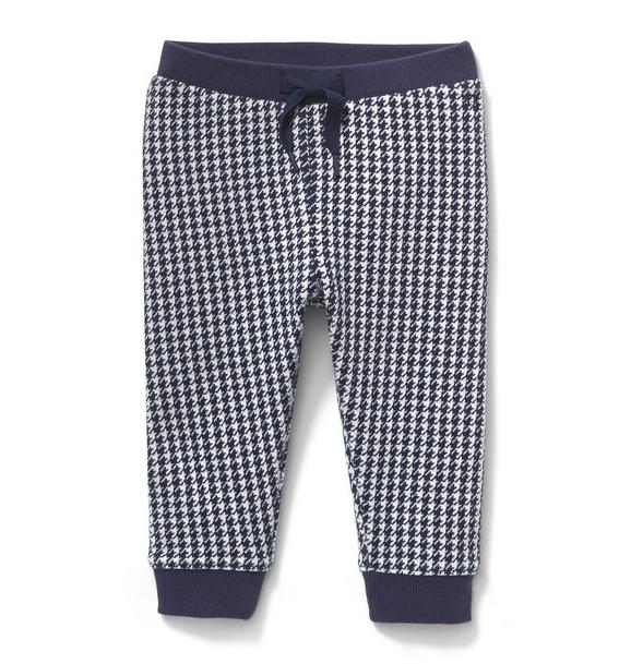 Houndstooth Jogger