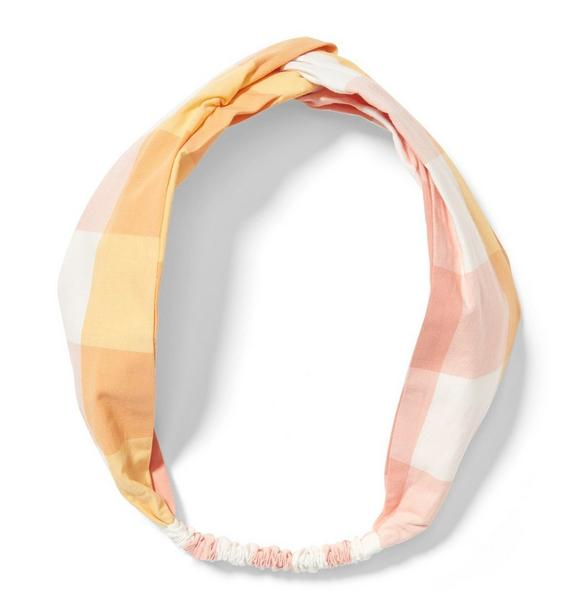 Gingham Soft Headband