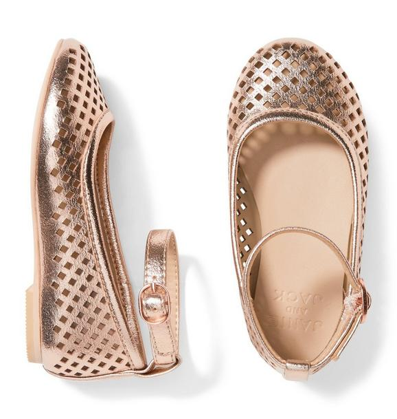 Metallic Perforated Flat