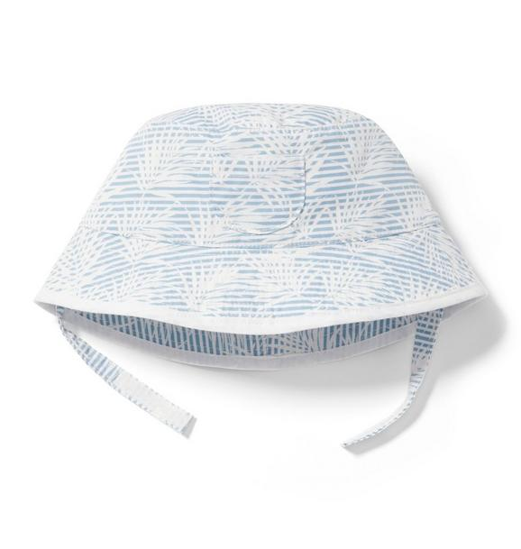 Striped Palm Bucket Hat