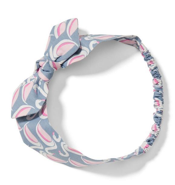 Flamingo Bow Headband
