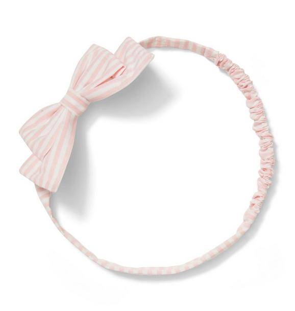 Striped Soft Bow Headband