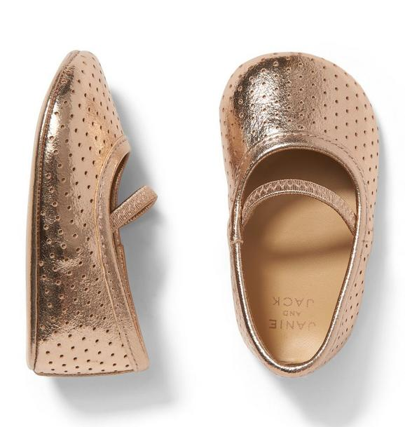 Metallic Perforated Crib Shoe