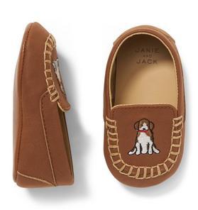 Dog Loafer Crib Shoe