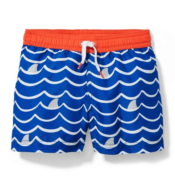 Wave Swim Trunk