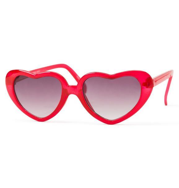 Juno Valentine Heart Sunglasses