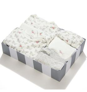 6-Piece Dog Print Box