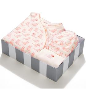 3-Piece Cat Print Box