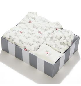 3-Piece Dog Print Box