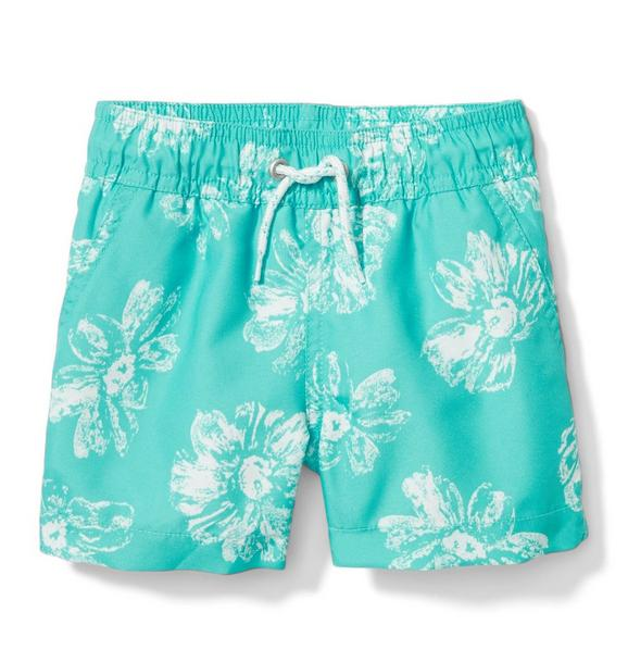 Hibiscus Swim Trunk