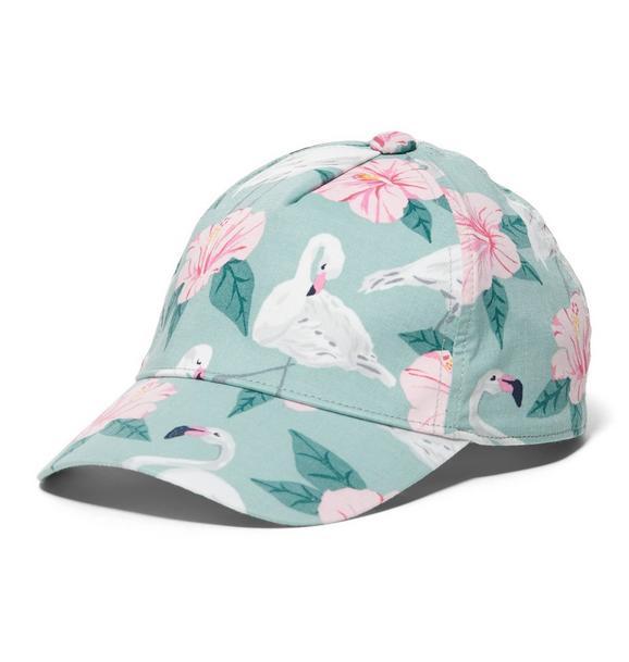 Flamingo Hibiscus Cap