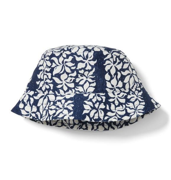 Reyn Spooner Tahitian Gardenia Bucket Hat