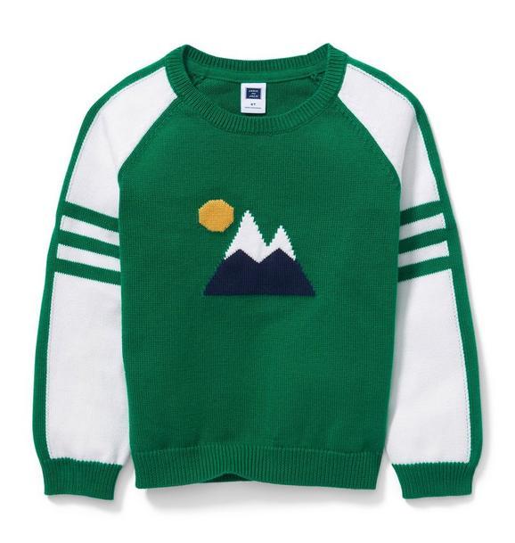 Raglan Mountain Pullover