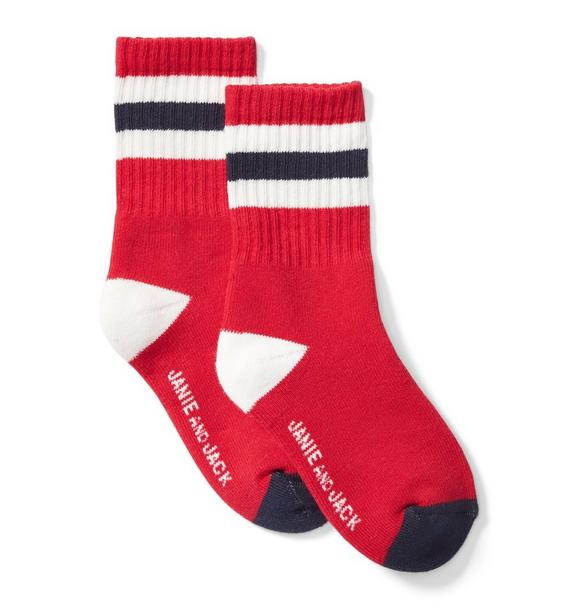 Striped Athletic Sock
