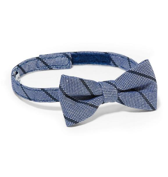 Striped Textured Bowtie