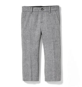 Herringbone Wool Pant
