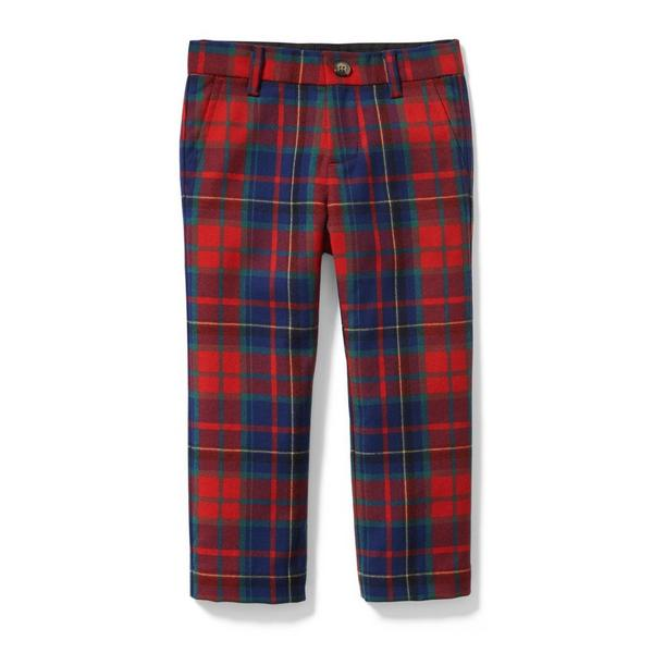 Plaid Wool Pant by Janie And Jack