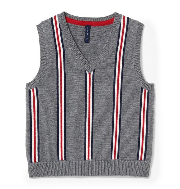 Striped Sweater Vest