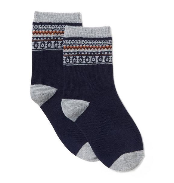 Fair Isle Sock