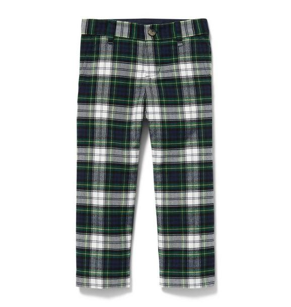 Brushed Plaid Pant