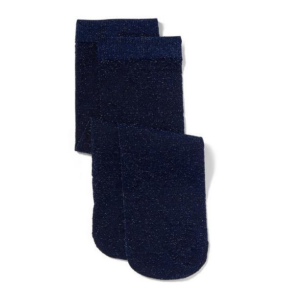 Sheer Shimmer Sock