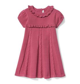e26e0ee4 Ruffle Sweater Dress