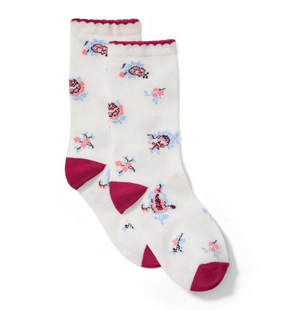 Floral Sock
