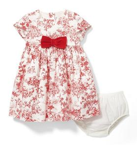 Toile Bow Dress