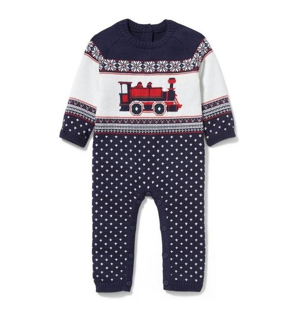 Train Fair Isle 1-Piece