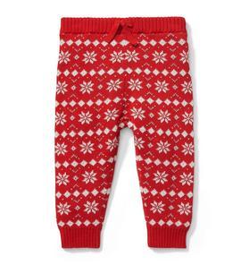 Fair Isle Sweater Pant