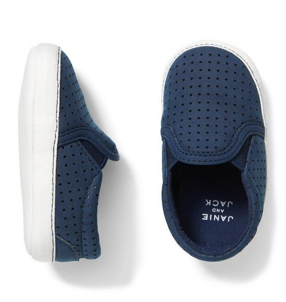 Perforated Slip-On Crib Shoe