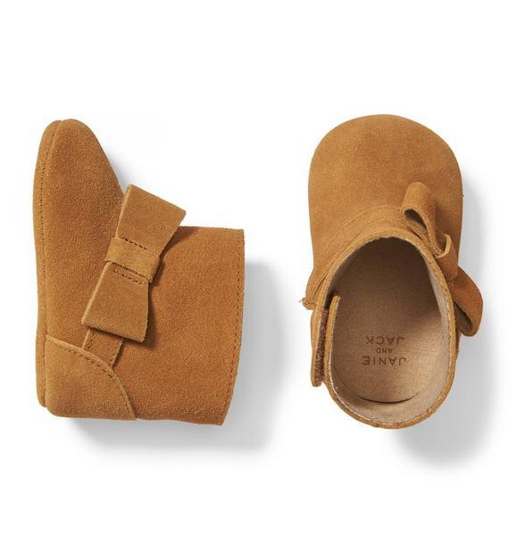 Bow Bootie Crib Shoe