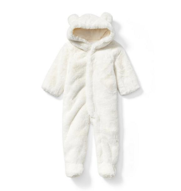 Faux Fur Bear 1-Piece
