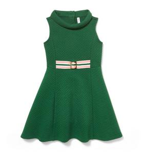 6b32bf875 Quilted Ribbon Belt Dress