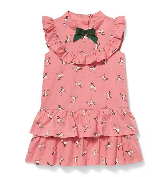 Dog Ruffle Dress